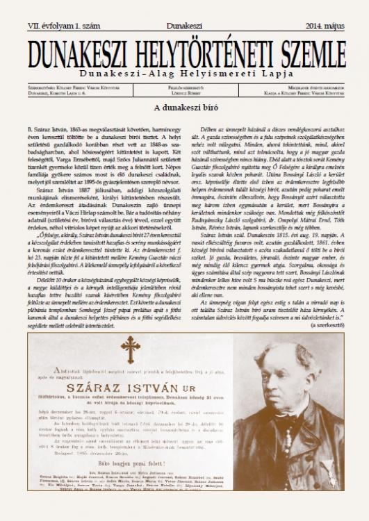 VII. évf. 1. sz. (2014. május)